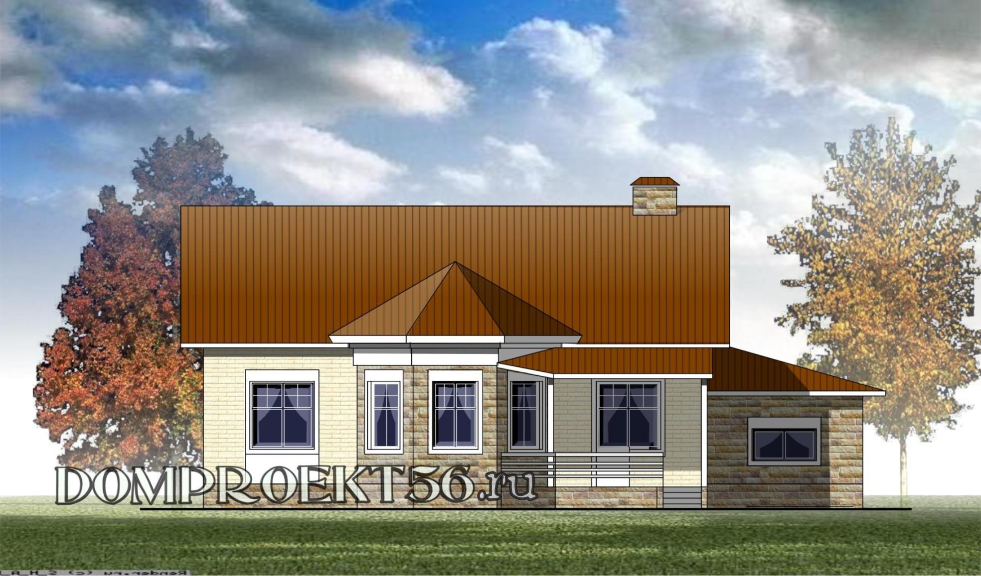 Жилые дома с односкатной крышей в Москве: проекты для