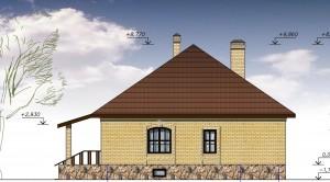 Загородный жилой дом проект