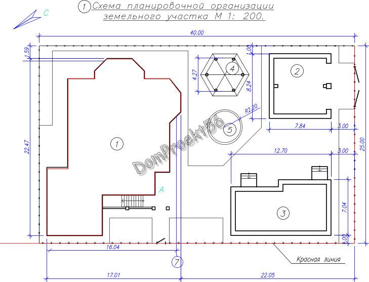 Проект блока хозяйственных построек 30-15